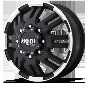 Moto Metal MO963 Dually 8 Matte Black Machined