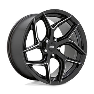 Niche Sport Series Torsion - M266 5 Gloss Black Milled