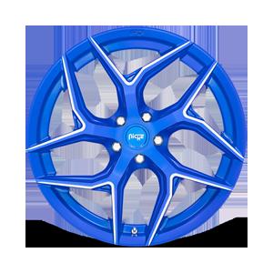 Torsion - M268 Anodized Blue Milled 5 lug
