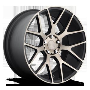 Niche Sport Series Intake - M159 5 Black & Machined with Dark Tint 20x10.5