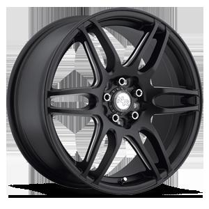 Niche Sport Series NR6 - M106 5 Stone Black & Milled Spoke