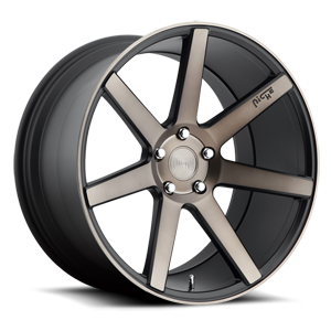 Niche Sport Series Verona - M150 5 Black & Machined with Dark Tint