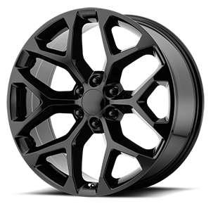 OE Creations 176 6 Gloss Black