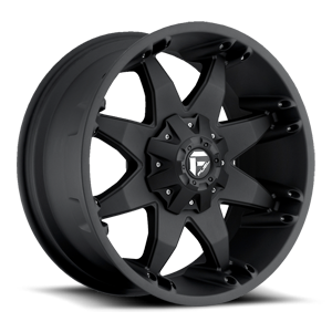 Fuel 1-Piece Wheels Octane - D509 5 Matte Black