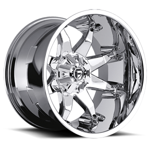 D508 OCTANE - Deep Lip Chrome Plated 5 lug