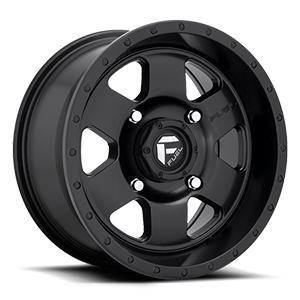 Podium - D618 - UTV Satin Black 4 lug