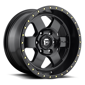 Fuel 1-Piece Wheels Podium - D618 6 Satin Black