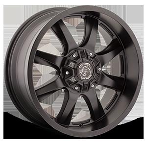 578 Flat Black 8 lug