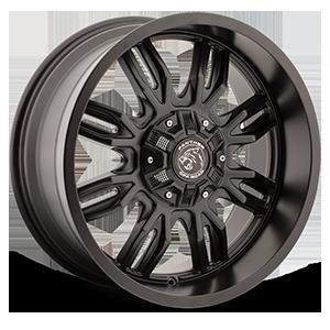 580 Gloss Black 8 lug