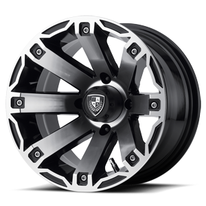 Fairway Alloys Rage 4 Machined Gloss Black