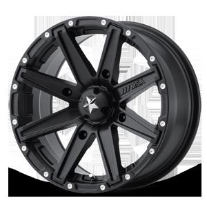 MSA Offroad Wheels M33 Clutch 4 Satin Black