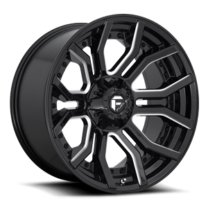 Fuel 1-Piece Wheels Rage - D711 6 Gloss Black Milled