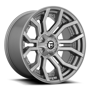 Fuel 1-Piece Wheels Rage - D713 6 Platinum