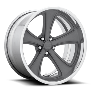 US Mags Rascal Concave - US591 5 Matte Textured Gunmetal