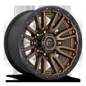 Fuel 1-Piece Wheels Rebel 8 - D681 8 Bronze