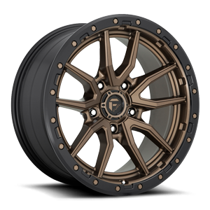 Fuel 1-Piece Wheels Rebel 5 - D681 5 Bronze