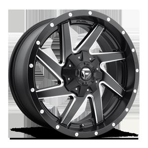 Fuel 1-Piece Wheels Renegade - D594 6 Black & Milled