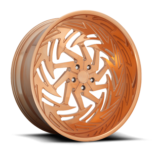 DUB Forged Riptide - X112 5 Rose Gold