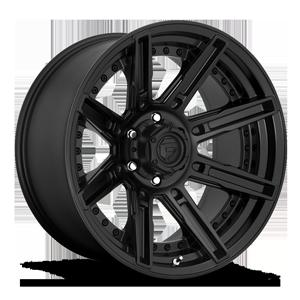 Fuel 1-Piece Wheels Rogue - D709 6 Matte Black