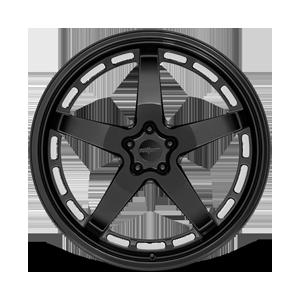 WGR-S Gloss Black 5 lug