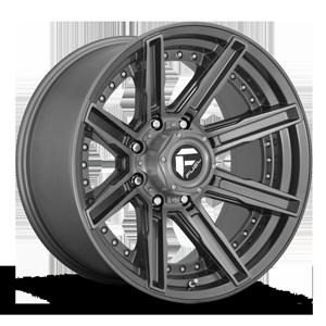 Fuel 1-Piece Wheels Rogue Platinum - D710 8 Platinum