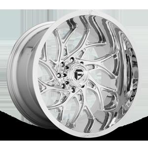 Fuel 1-Piece Wheels Runner - D740 8 Chrome