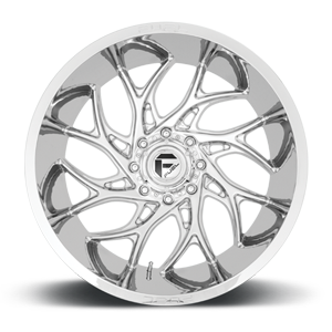 Runner - D740 Chrome 8 lug