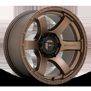 Fuel 1-Piece Wheels Rush - D768 6 Matte Bronze