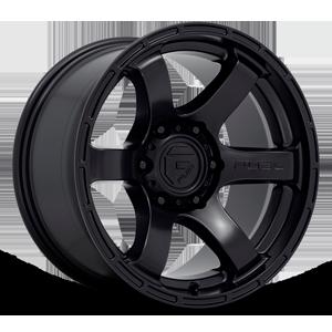 Fuel 1-Piece Wheels Rush - D766 6 Satin Black