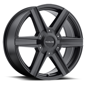 Raceline Wheels 157 Phantom 6 Satin Black