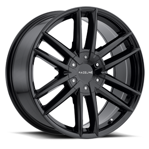 Raceline Wheels 158 Impulse 6 Gloss Black