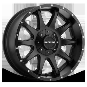 Raceline Wheels 930 Shift 5 Matte Black