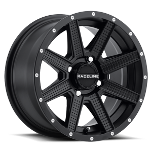 Raceline Wheels A92 Hostage 4 Satin Black