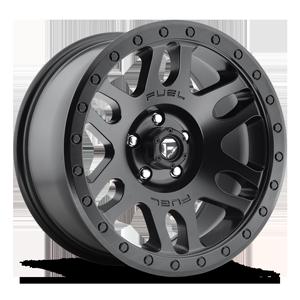 Fuel 1-Piece Wheels Recoil - D584 5 Matte Black