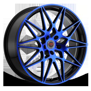 R11 Black/Blue 5 lug