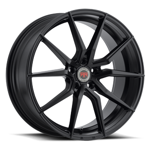 R16 Satin Black 5 lug