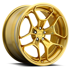 Rotiform HUR 5 Polished Gold
