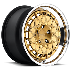 BTH Gold w/Polished Lip 5 lug