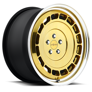 Rotiform VCE-T 5 Gold w/Polished Lip