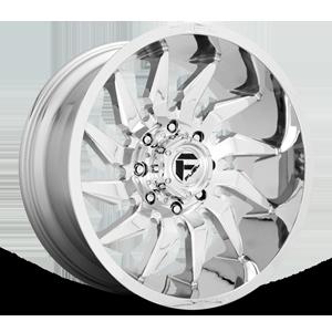 Fuel 1-Piece Wheels D743 SABER 8 Chrome