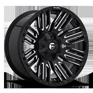 Fuel 1-Piece Wheels Schism - D649 5 Gloss Black & Milled