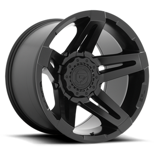 Fuel 1-Piece Wheels SFJ - D763 6 Matte Black - 20x12