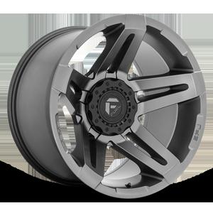 Fuel 1-Piece Wheels SFJ - D764 6 Matte Anthracite