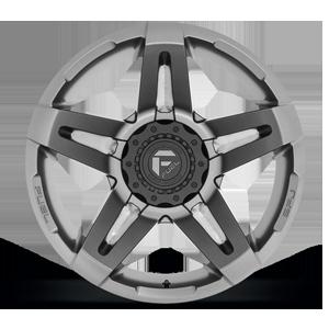SFJ - D764 Matte Anthracite 6 lug