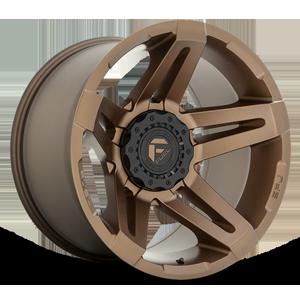 Fuel 1-Piece Wheels SFJ - D765 6 Matte Bronze