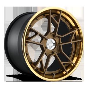 Rotiform SFO-T 5 Matte Bronze w/ Polished Monaco Copper Lip