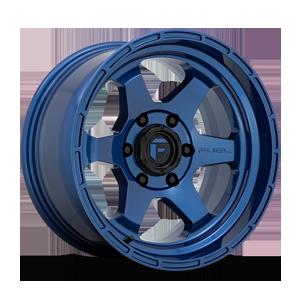 Shok - D739 Dark Blue 6 lug