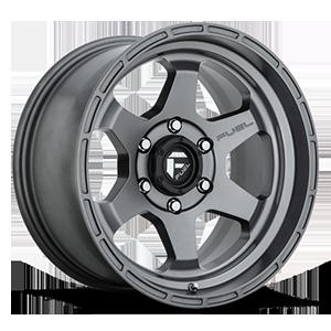Fuel 1-Piece Wheels Shok - D665 6 Anthracite