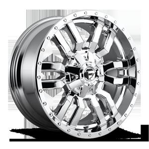 Fuel 1-Piece Wheels Sledge - D631 5 Chrome