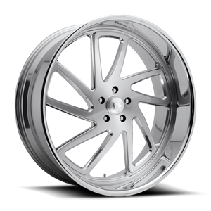 US Mags Stryker - Precision Series 5 Brushed w/ Polished Lip